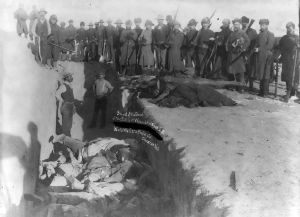 Wounded Knee Massacre - December 29, 1890